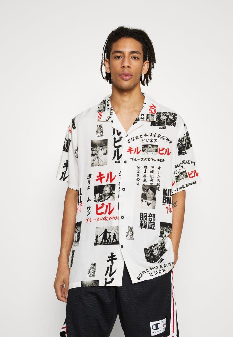 HUF - KILL BILL  - Camisa - white