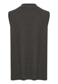 Kaffe - Top - dark grey melange - 5
