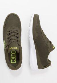 Kappa - FOLLOW  - Sports shoes - army/lime - 1