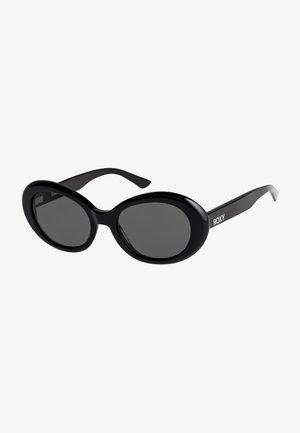 DOME - Sunglasses - shiny black/ grey