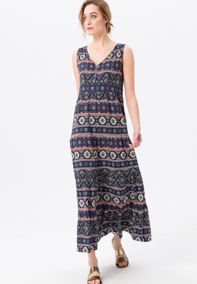 Maxi dress - dunkelblau/multicolor