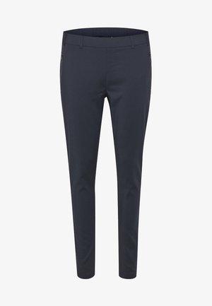VERA LIVA - Trousers - dark blue