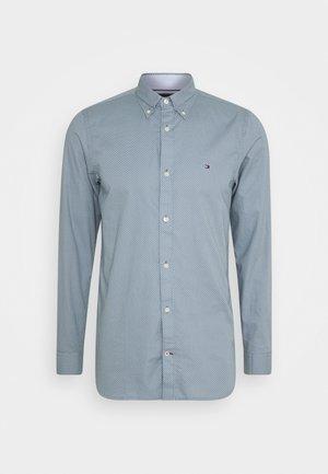 SLIM MICRO PRINT - Camicia - blue
