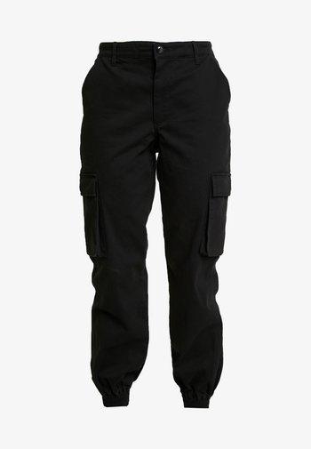 ONLBETSY ALVA PANT - Cargo trousers - black