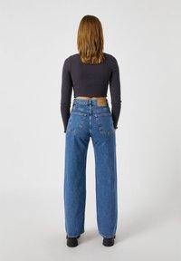 PULL&BEAR - T-shirt à manches longues - black - 2