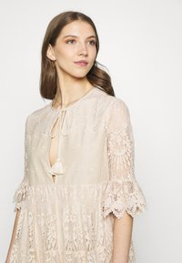 River Island - LUXE SMOCK - Cocktail dress / Party dress - offwhite - 3