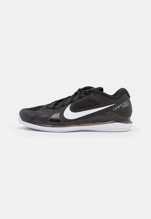 AIR ZOOM VAPOR PRO CLAY - Clay court tennis shoes - black/white