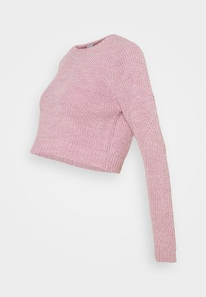 MLLINA CROPPED - Jumper - mauve shadows/melange