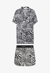 Chalmers - SARAH ZEBRA HERD SET - Pyjama - white/black/multi-coloured - 3