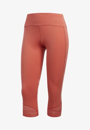 HOW WE DO 3/4-TIGHTS - 3/4 sports trousers - trace scarlet