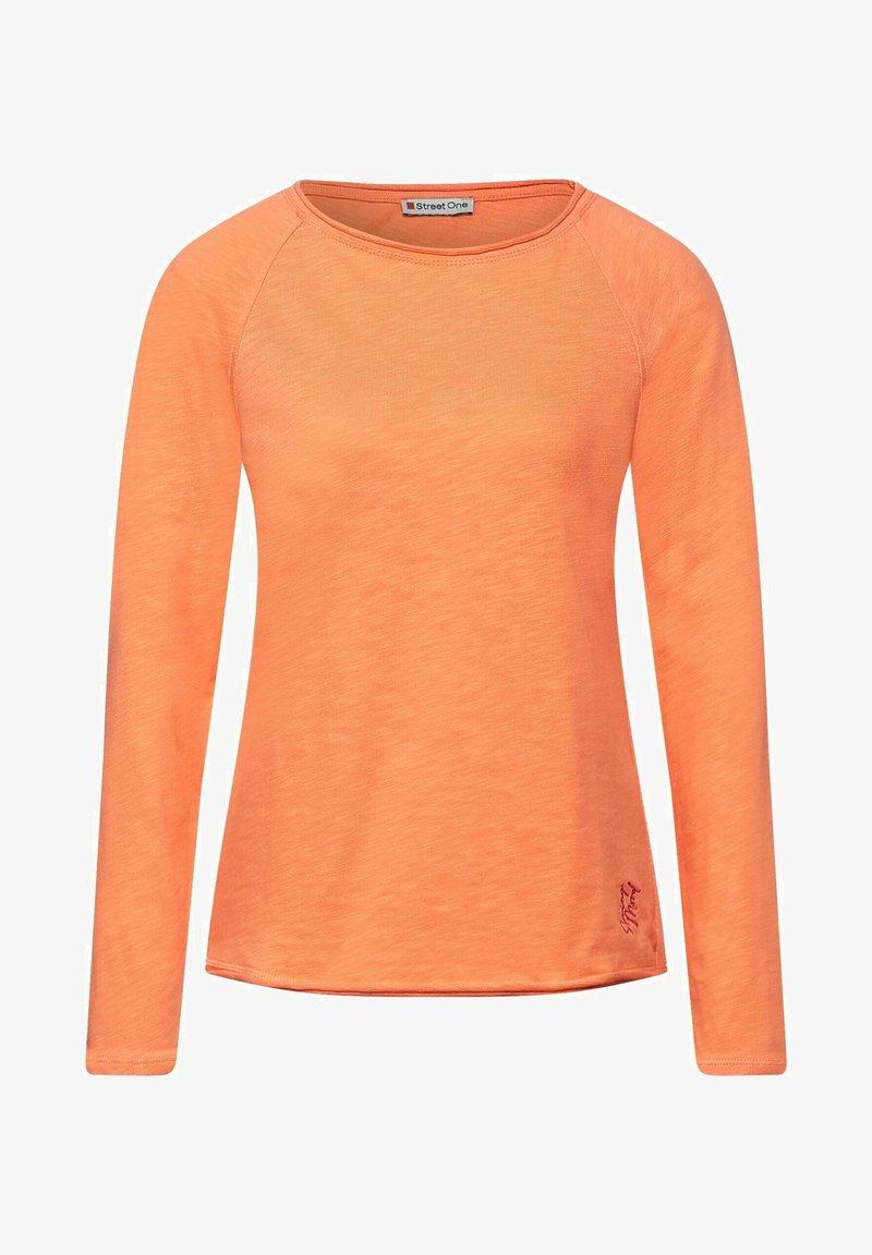Street One - Long sleeved top - orange