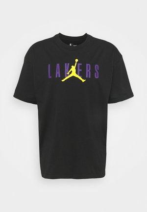 NBA LOS ANGELES LAKERS STATEMENT STATEMENT TEE - Club wear - black