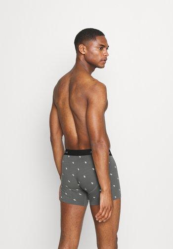 NEW COLOR ICON 5 PACK - Pants - black/dark grey/grey/light grey/white