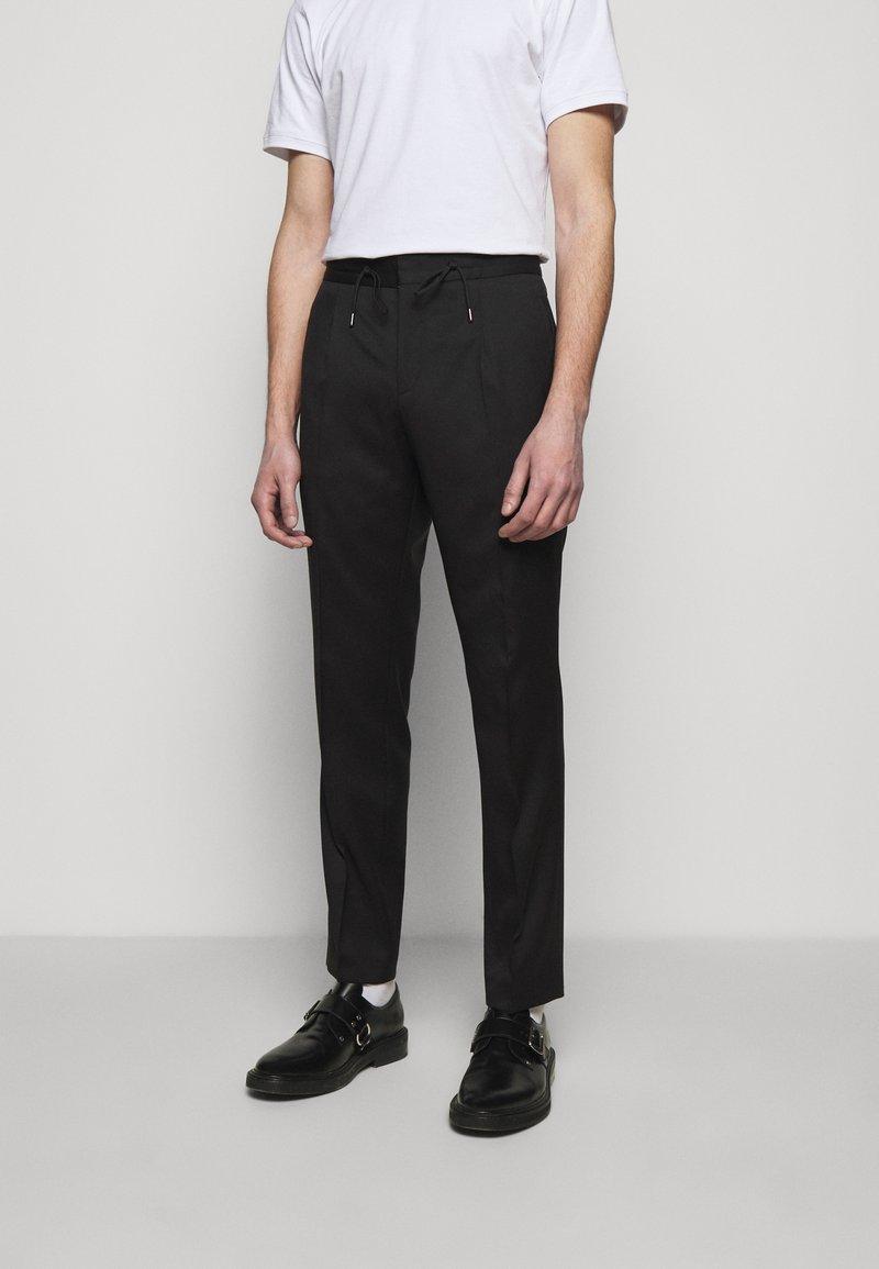 HUGO - HELIOS - Pantalon classique - black