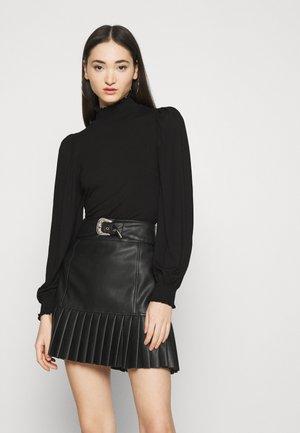 ONLELVA  SMOCK - Long sleeved top - black
