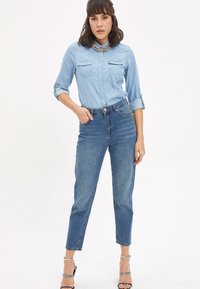 DeFacto - LINE MOM - Straight leg jeans - blue - 1