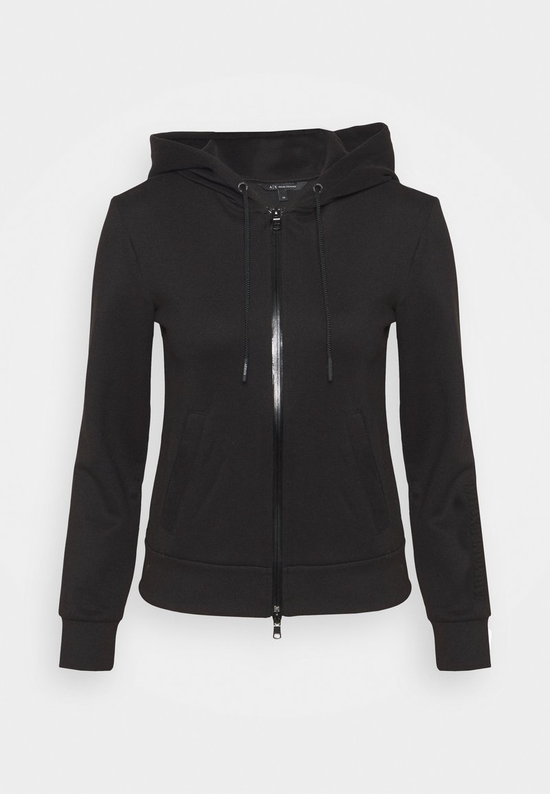 Armani Exchange - FELPA - Mikina na zip - black