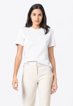 INTERLOCK - Basic T-shirt - weiß