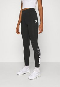 Nike Sportswear - Leggings - Trousers - black/white - 0