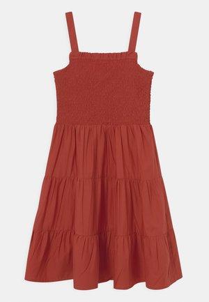 NKFJULIE STRAP DRESS - Day dress - tandoori spice