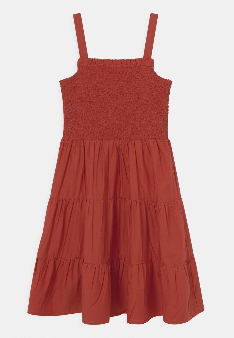 Name it - NKFJULIE STRAP DRESS - Day dress - tandoori spice