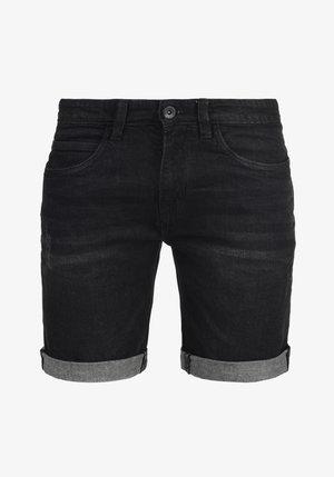 QUENTIN - Szorty jeansowe - black