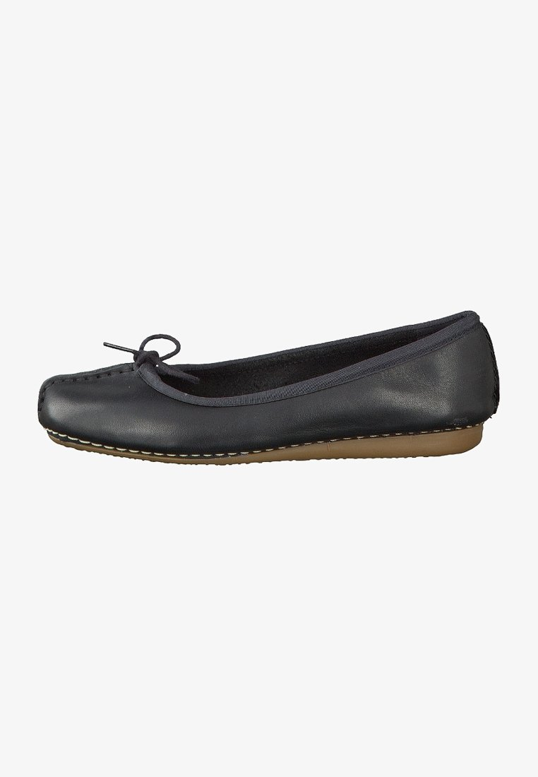 Clarks Unstructured - FRECKLE ICE - Ballet pumps - black