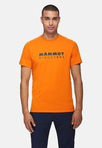 Mammut - TROVAT  - Print T-shirt - dark radiant prt1 - 0