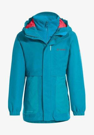 CAMPFIRE 3IN1 GIRLS - Outdoor jacket - blue