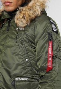 Alpha Industries - AIRBORNE - Winter coat - dark green - 7