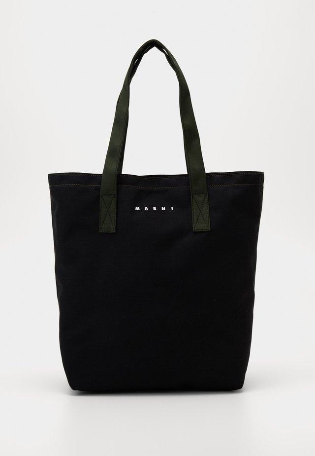 Handtas - black/thyme