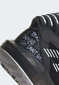 adidas Performance - DAME  SHOES - Basketbalschoenen - black - 6