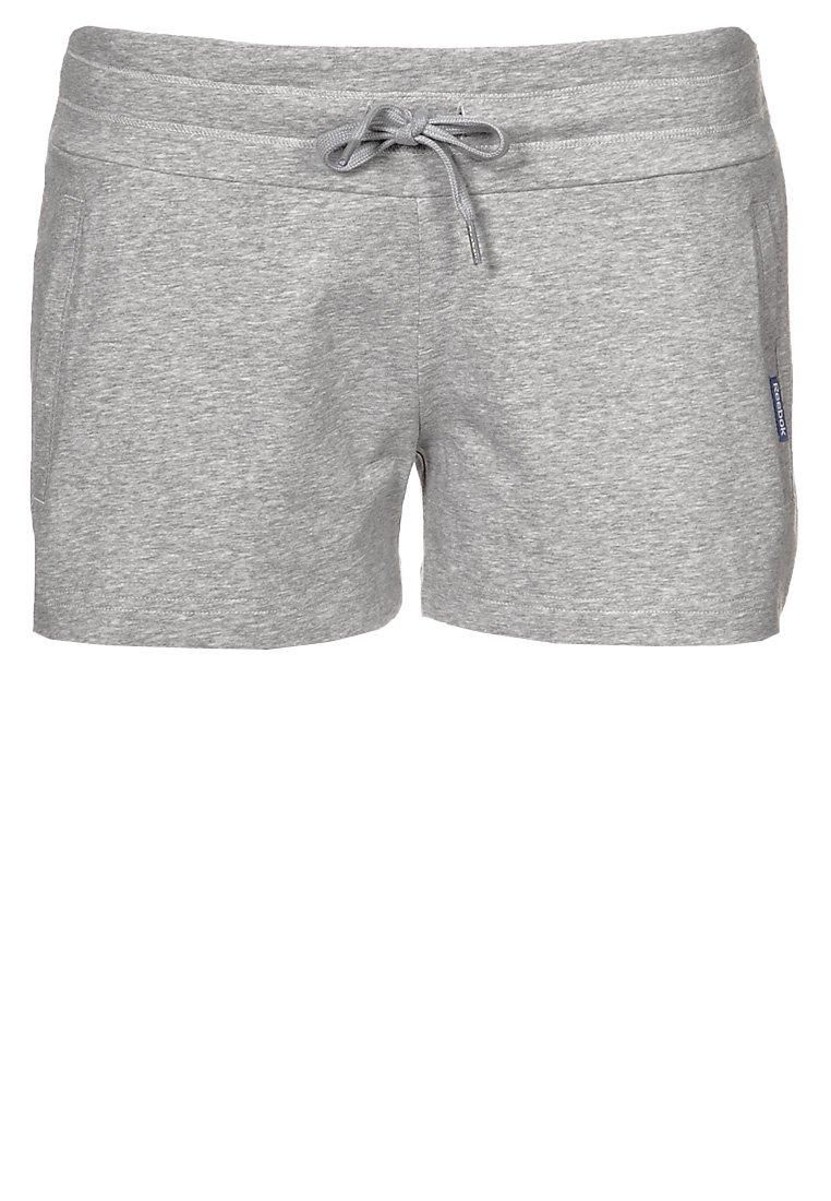 Reebok - JERSY SHORT - Shorts - medium grey heather