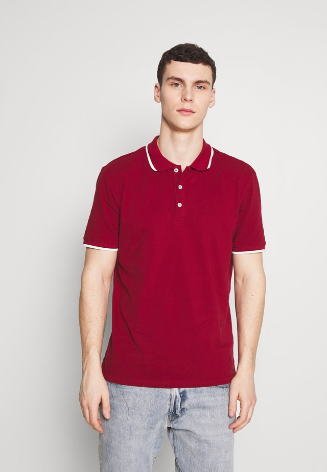 STEFAN - Poloskjorter - bordeaux