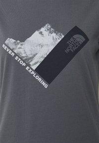 The North Face - NEW CLIMB TEE - T-shirts med print - vanadis grey - 2