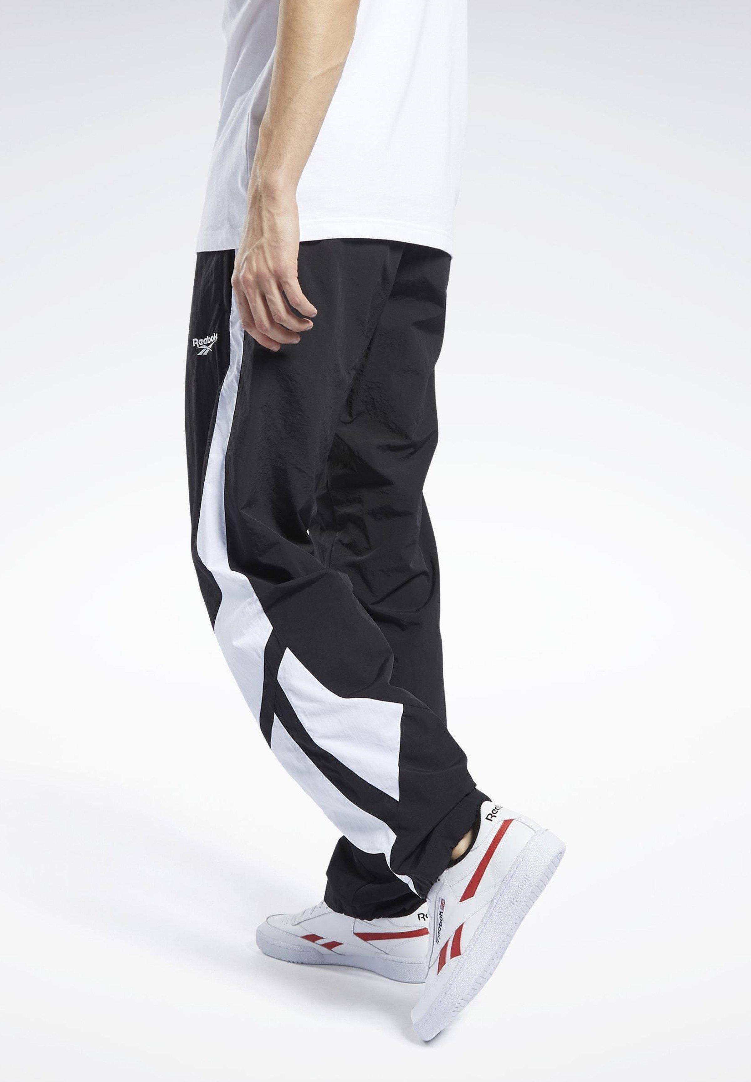 Sale Women's Clothing Reebok Classic CLASSICS TWIN VECTOR TRACKSUIT BOTTOMS Tracksuit bottoms black kjhX9Rqb3