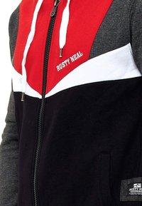 Rusty Neal - Zip-up hoodie - rot - 2