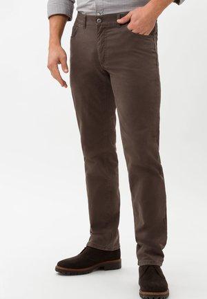 STYLE COOPER - Straight leg jeans - dark-brown