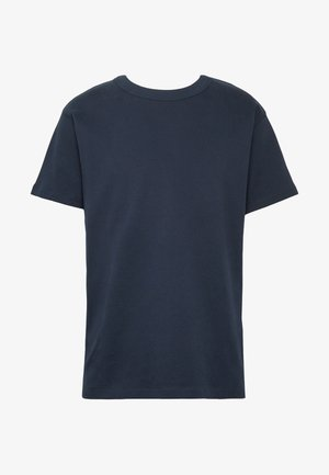 JPRNIGHT TEE CREW NECK - Basic T-shirt - blueberry