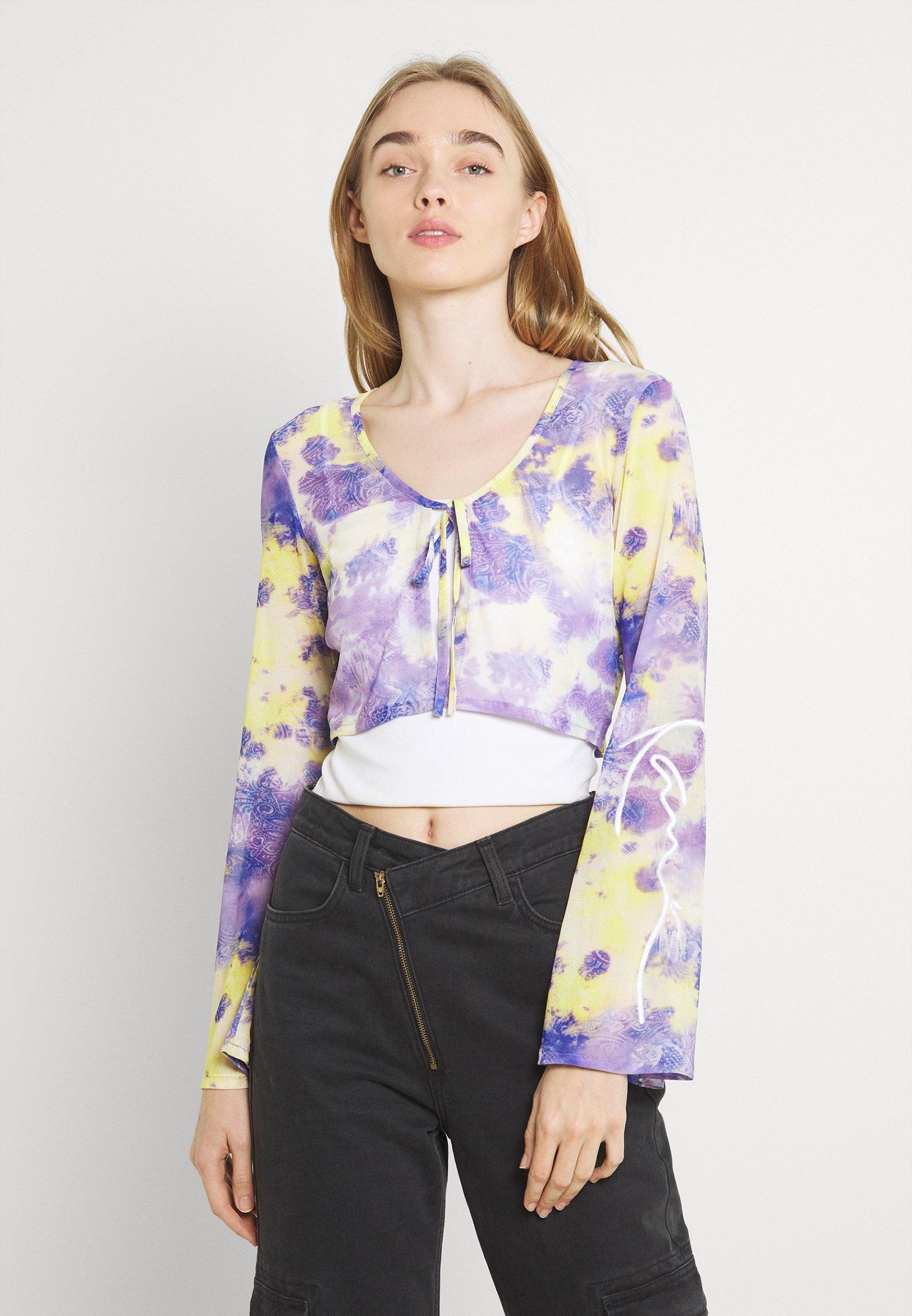 Women SIGNATURE PAISLEY BOLERO - Summer jacket