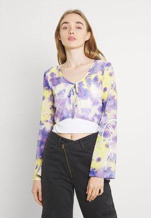 SIGNATURE PAISLEY BOLERO - Summer jacket - lilac