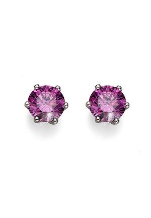 BRILLIANCE - Earrings - violett