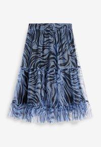 Next - Pleated skirt - blue - 9