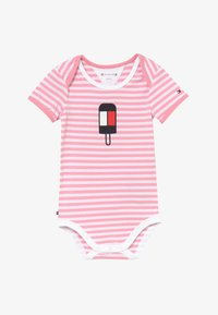 Tommy Hilfiger - BABY STRIPED - Body - pink - 2