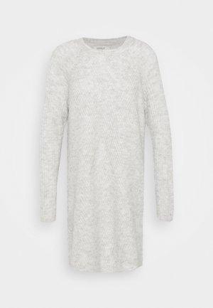 ONLCAROL  - Jumper dress - light grey melange