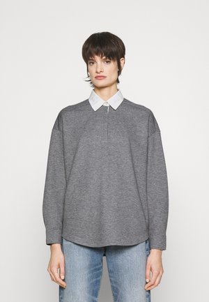 JOAN LABEL - Polo shirt - heathergrey