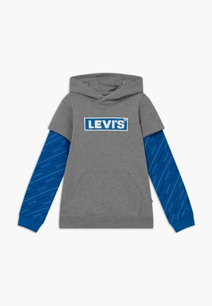MICRO LOGO HOODIE - Hoodie - grey heather
