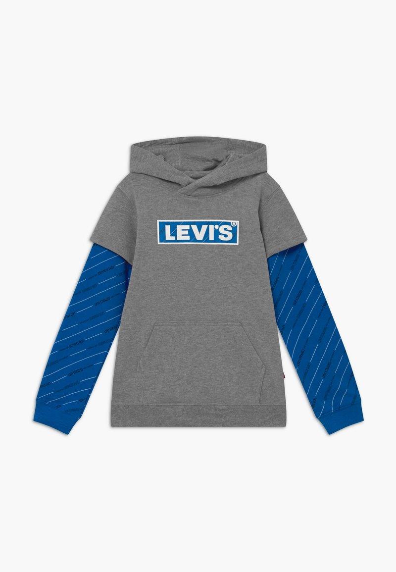 Levi's® - MICRO LOGO HOODIE - Felpa con cappuccio - grey heather