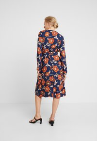 edc by Esprit - WRAP DRESS - Day dress - navy - 3