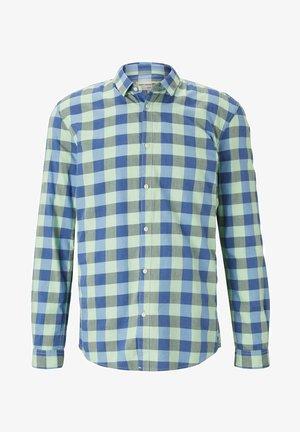 BLUSEN & SHIRTS KARIERTES HEMD - Shirt - mint blue vichy check